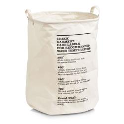 Billede af Vasketøjskurv - Care Labels