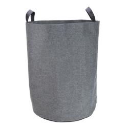 Billede af Vasketøjspose rund - grå