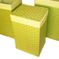 Billede af Vasketøjskurv lime - lille