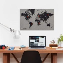 Pin world - med storbyer