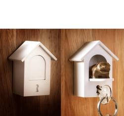 Watchdog nøgleholder - brun