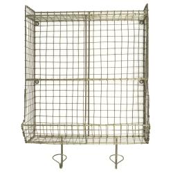 Image of   Wire holder til væg - messing look