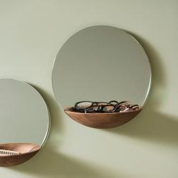 Image of   Spejl med hylde Pocket Mirror - large