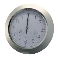 Billede af Radiokontrolleret vægur med termometer