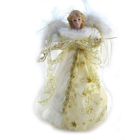 Porcelæns engel - creme