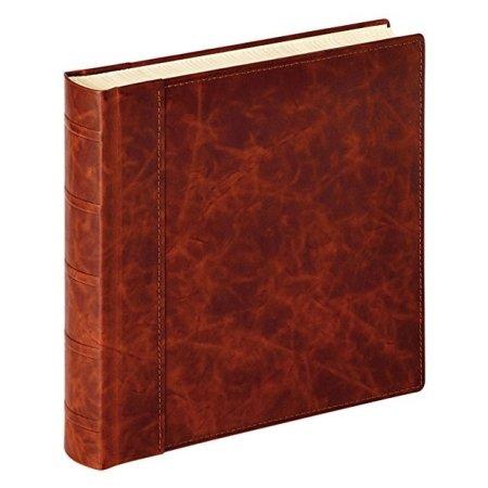 Fotoalbum i brun læder