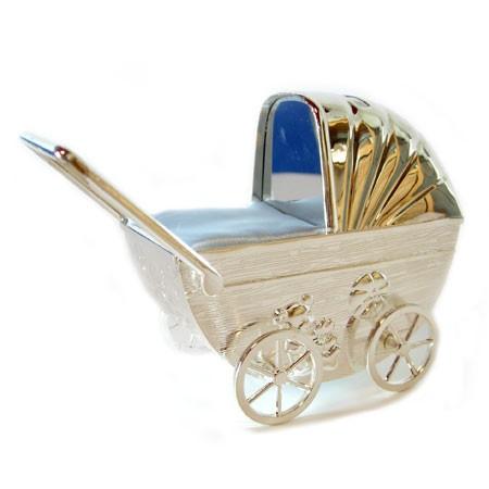 Sparegris - barnevogn med blå