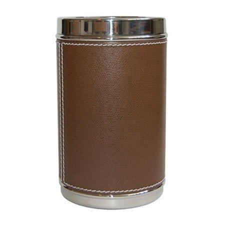 Vinkøler - brun læder