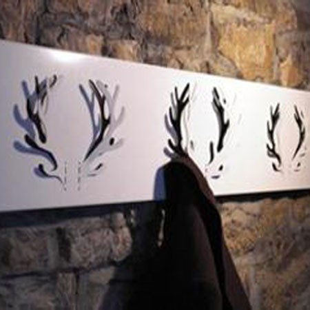 Oh deer knager�kke - sort (3 gevir)