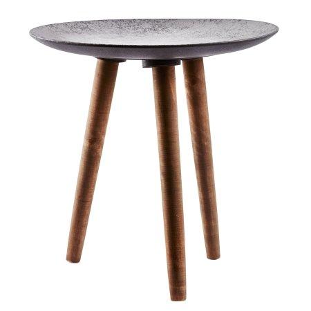 Bord med grå plade - small