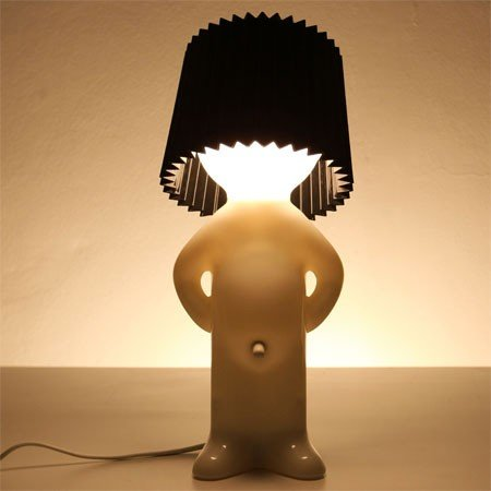 Mr. P lampe one man shy - sort sk�rm