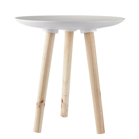 Bord med hvid plade - small