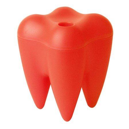 Sweet Tooth - slikskål rød