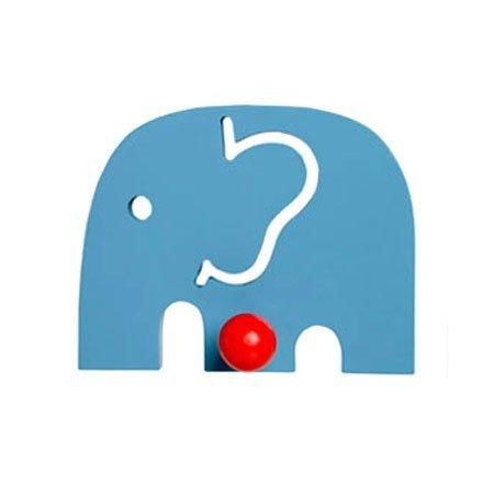 Elefant knage - blå