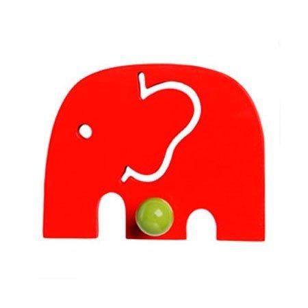 Elefant knage - rød