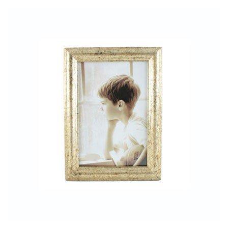 Fotoramme med guld kant - 10x15 cm