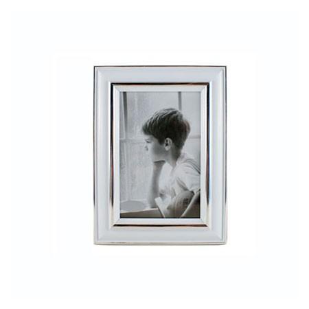 Fotoramme med hvid kant - 10x15 cm