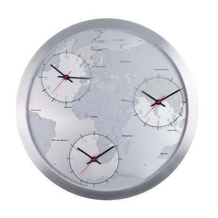 Vægur med verden - 3 ure