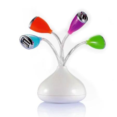 Blomster USB hub