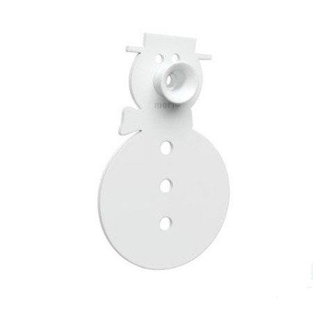 Knage - hvid snemand