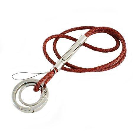 Verivinci nøglekæde - rød læder