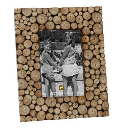 Fotoramme med træskiver