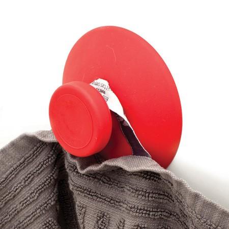 Knage med sugekop - rød