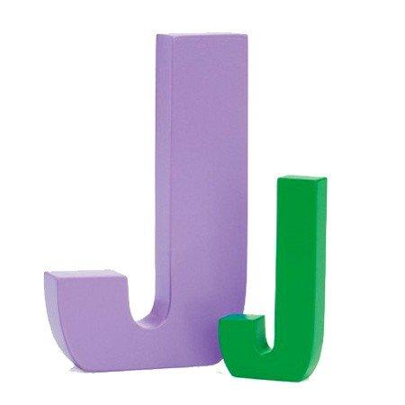 Bogstav j - grøn