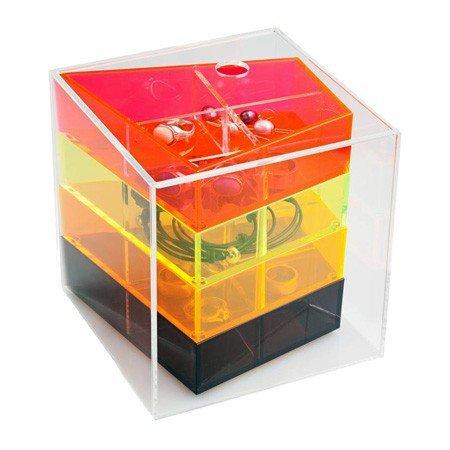 Akryl boks - smykkeskrin