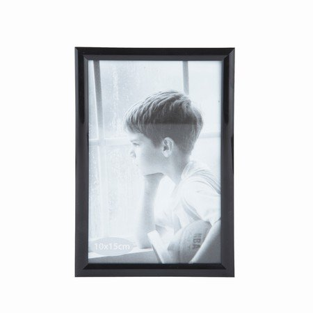 Fotoramme - sort - 10x15 cm