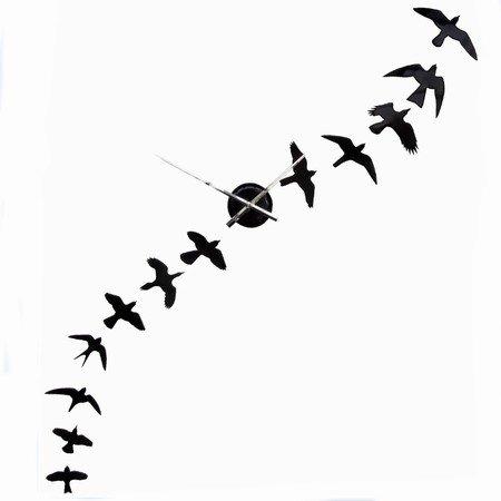DIY v�gur med fugle - sort