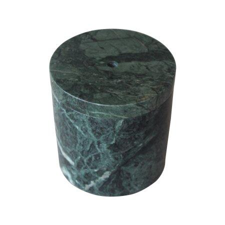 Krukke i grøn marmor