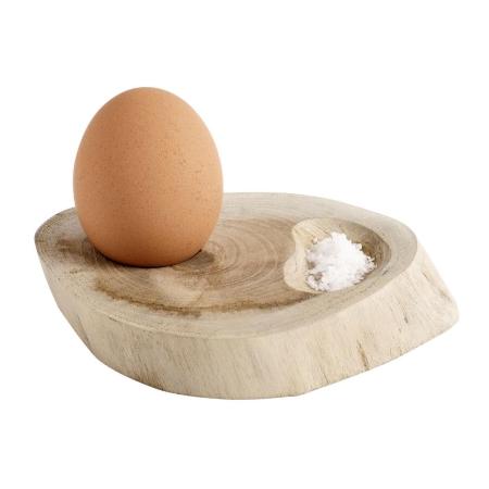 Æggebægre i træ - 4 stk.