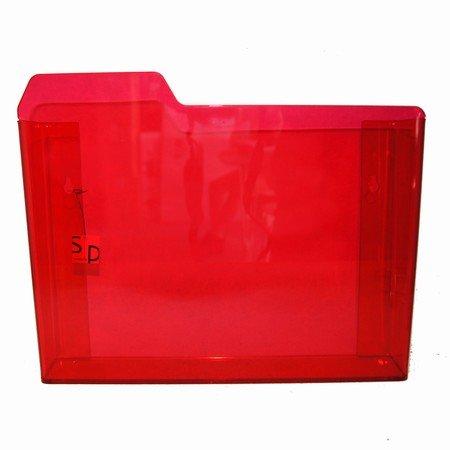 Kasse i r�d akryl
