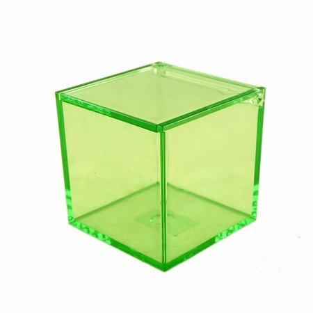 Boks i grøn akryl