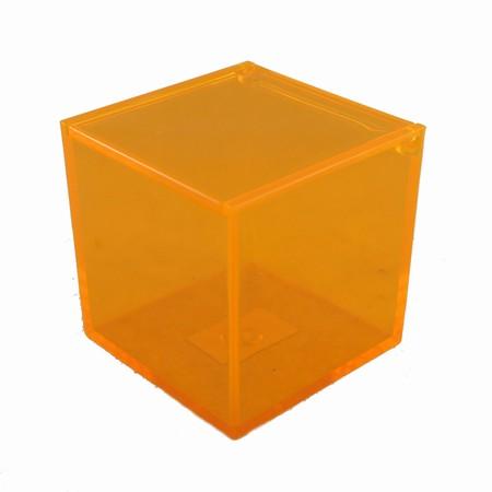 Boks i orange akryl