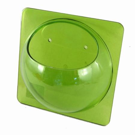 Grøn akryl holder
