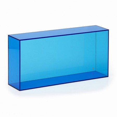Blå akryl kasse - Neon Living