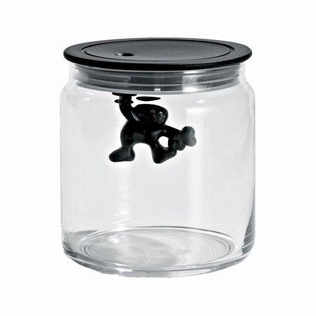 Alessi Gianni glas - sort small