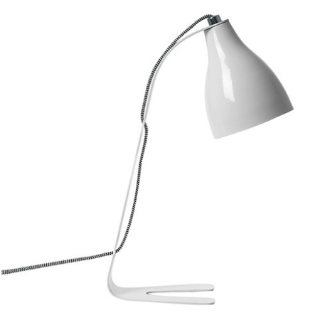 Barefoot lampe - hvid