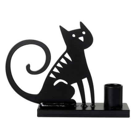Lysestage - Sitting Cat