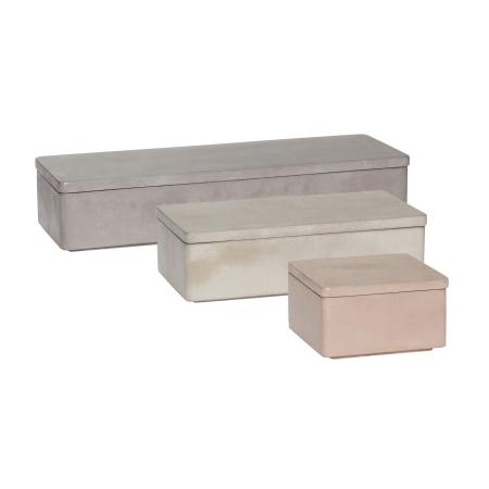 Bokse i beton - 3 stk