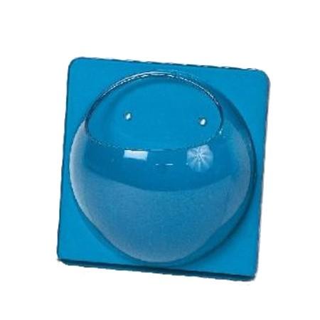 Blå akryl holder