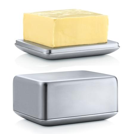 Smørboks - stål