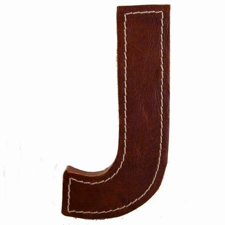 Læder bogstav - J