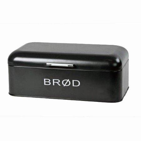Brød boks - sort
