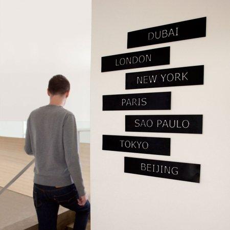 City life til væggen