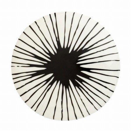 Casalinga knage / greb i hvid og sort - large