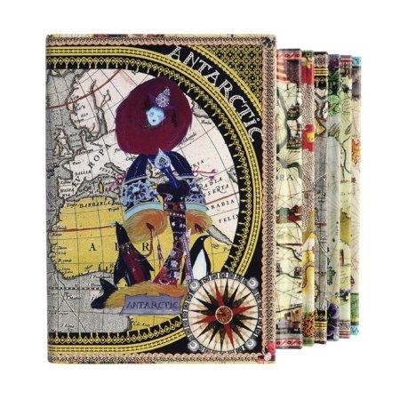 Christian Lacroix Continents Box - 6 bøger