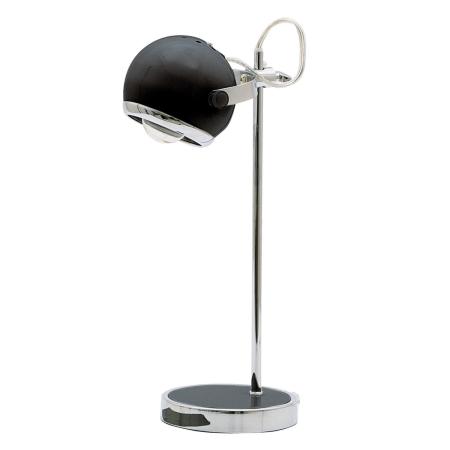 Retro lampe - sort